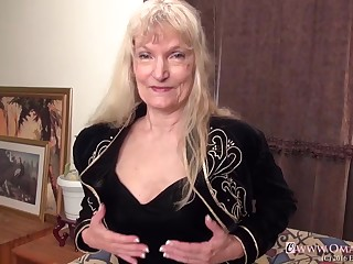 Great grown-up video with two soft horny grannies compilation
