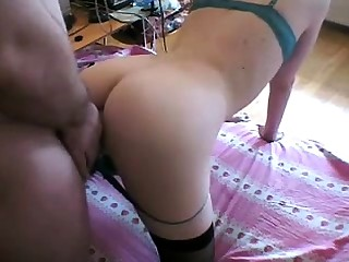 Nasty floozie Lela Star having a hardcore doggystyle fuck