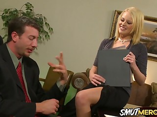 Hot Secretary Codi Cormichael Shows Her Boss Why She Deserves a Recovered