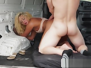 Keely Gets Kidnapped And Roughly Banged Down Van