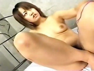 Shapely Japanese Anal sex 2