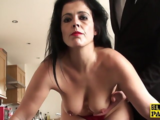 Mature sub assfucked till such time as white-hot raw and ruined