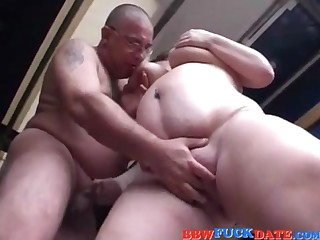 FATTY Coed Pleasuring  Old Man