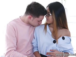 Teens Analyzed - Roxy Lips - Anal love approximately hot nubile