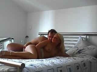 Horny couple fianc