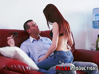 Nina OBel gets her pussy banged in all possible ways by her lover