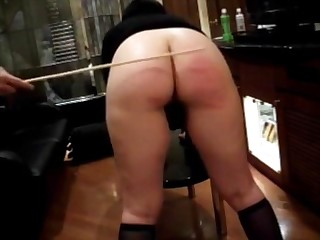 Hot milf gets say no to gorgeous ass red with the addition of incensed after a cruel cane punishment.