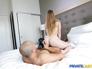 Private Casting X - Kenzie Madison - Big cock for giggly cutie