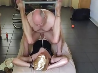 young Crossdresser acquire pounded By Daddy daddy