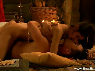 Non-native Indian Couple Explore Tantra Sex With A Twist