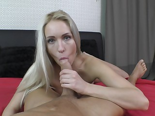 POV perfection in both said and vaginal scenes for the hot amateur
