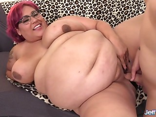 Cock hungry bbw takes stiff and thick dicks inside say no to buxom pussy up f study fucked