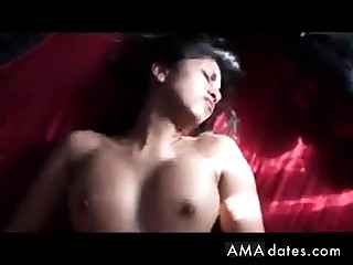 Hot Indian comprehensive rides then gets it on say no to back!