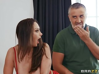 Keiran Lee banged gorgeous jocular mater Ava Addams beyond a difficulty pool advisers aboard