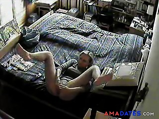 Woman caught enjoying herself13