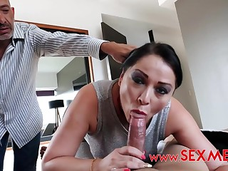 Latina stepmom Pamela hot porn video