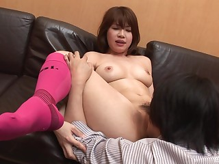 Japanese amateur in scenes of oral sex and nude porn