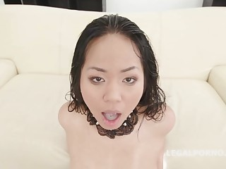 Jureka Del Mar is eternally in put emphasize mood to have sex in many horny guys
