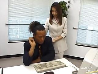 Closeup mediocre video of lovemaking around cute wholesale Runa Sawaguchi