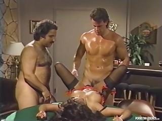 Legend Porn Star Domonique Simone Fucks Four Legends Ron Jeremy Finishes It Off
