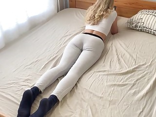 Blonde Fucks in Anal and Gets Hot Cum