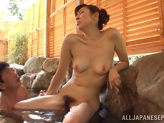 Hot rump wife Emiko Koike enjoys getting fucked in the synthesize
