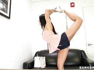 Dear brunette Adriana Chechik does a satirical and gets fucked